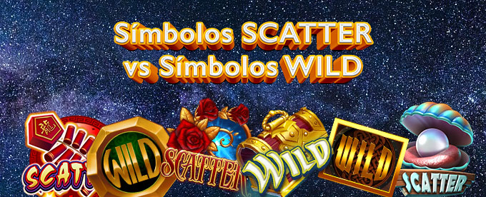 comparamos simbolos scatter y simbolos wild